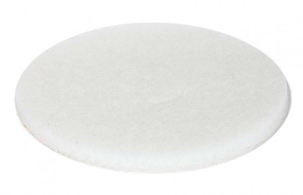 Pad Weiss 150 mm für Exzenterschleifmaschine