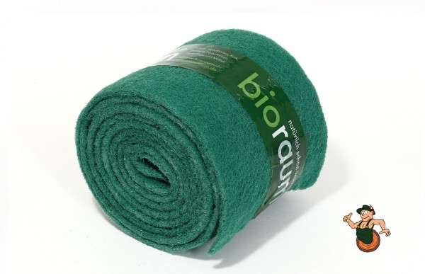 Massierpads grün auf Rolle