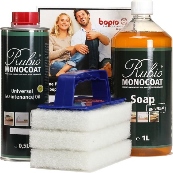 Pflege- und Reinigungsset für geöltes Holz