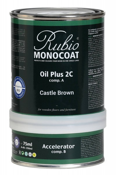 Oil Plus 2C Castle Brown (A+B)