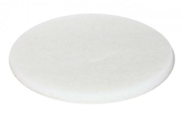 Weißes Super-Polierpad