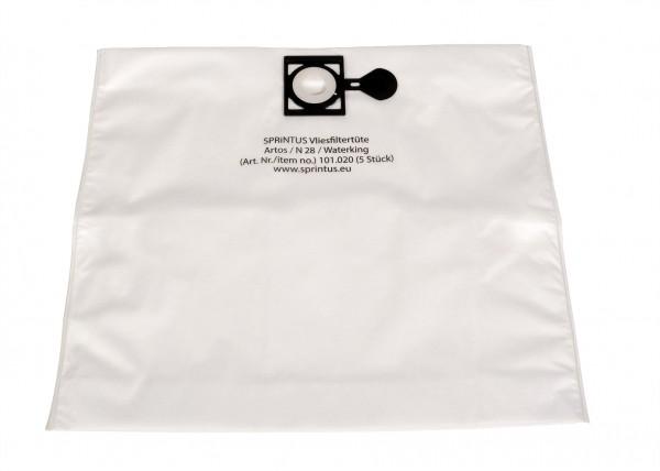 5 x Vliesfiltertüten für Nass-/Trockensauger Waterking, Artos und N28