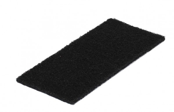 Schwarzes Normal-Reinigungspad groß